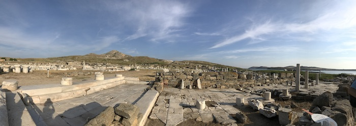 Delos overview panorama