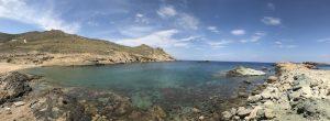 Mykonos northern beaches panorama