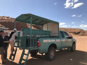 Upper Antelope canyon truck ride
