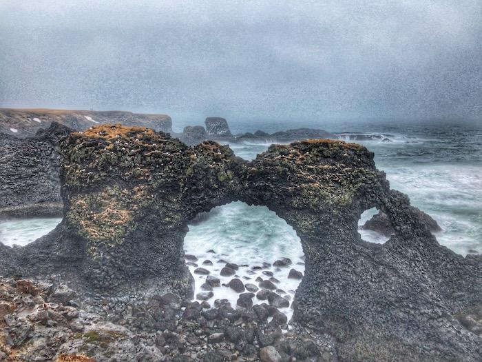 Arnarstapi Gatklettur Arch Rock, Iceland