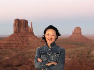 Joy in Monument Valley
