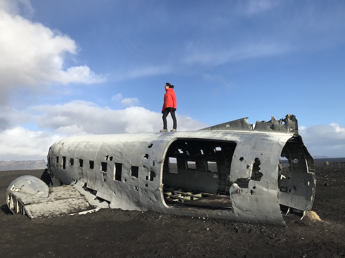 Solheimasandur US Navy crashed DC-3 near Vik, Iceland